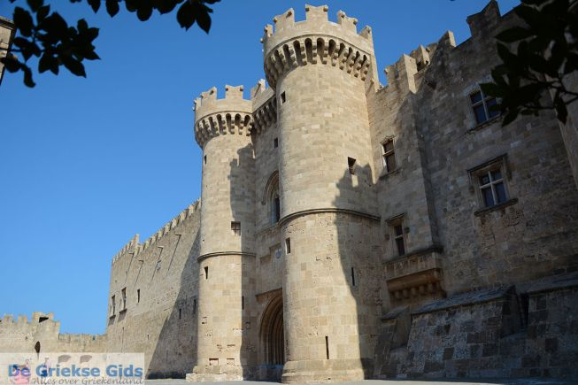 Rhodos stad  - Middeleeuwse burcht